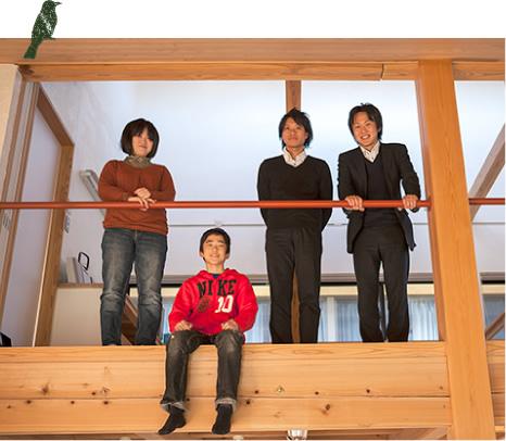 家族に、環境に優しい建築-自然素材の家
